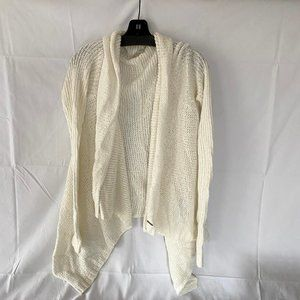 Gilly Hicks Off White Cream Cardigan